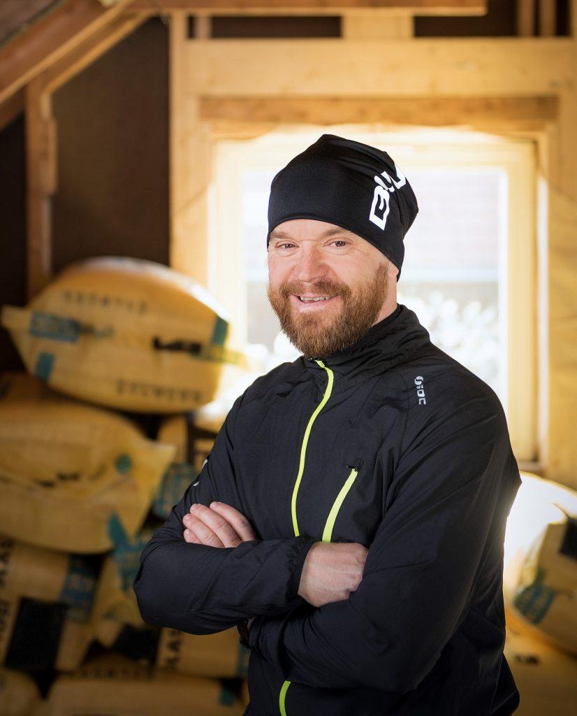 Brukte energirådgiver: Kenneth Rannem fikk over 100.000 kroner tilbakebetalt fra Enova da han oppgraderte huset sitt i Trondheim.