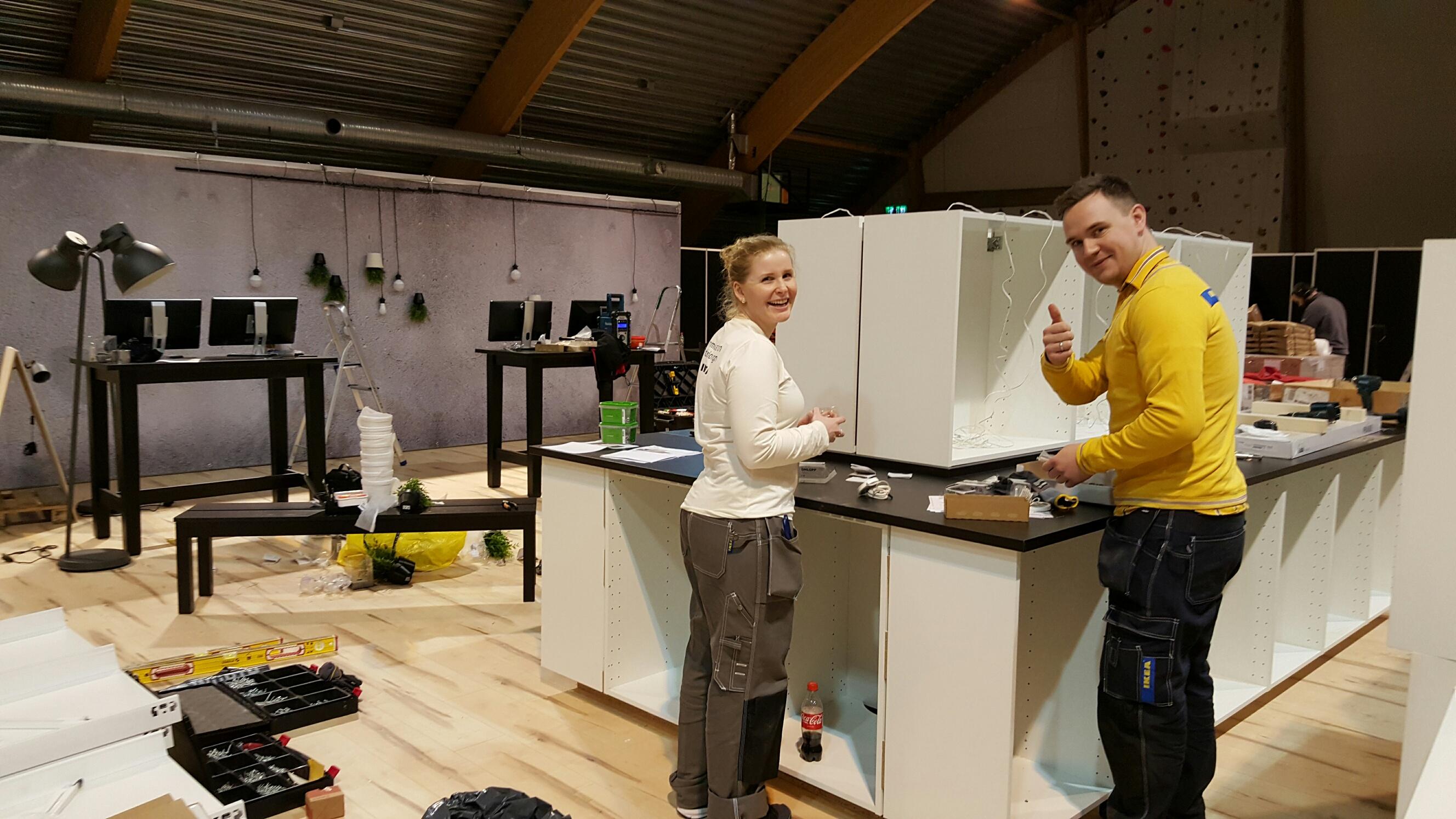 Alle i Mosjøen og omegn kan nå glede seg over at IKEA er tilgjengelig for kjøkkensalg i nærområdet i tre dager, 20. - 22. november.