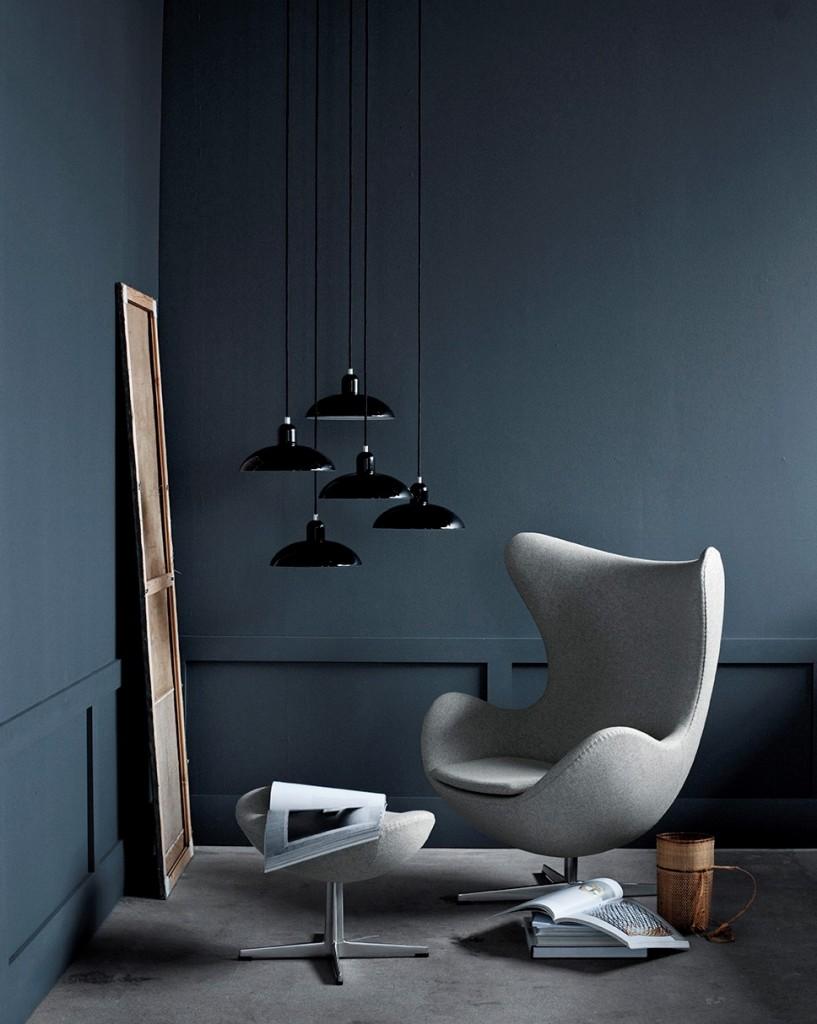 """Stolen """"Ægget"""" er designet av Arne Jacobsen, og er en verdenskjent klassiker."""