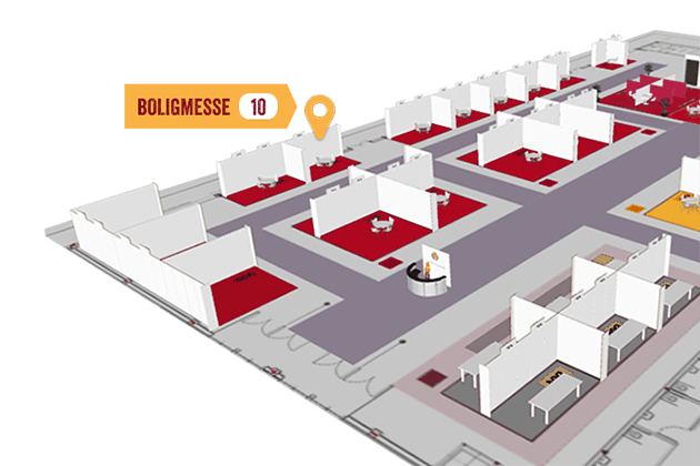 Map of exhibitors