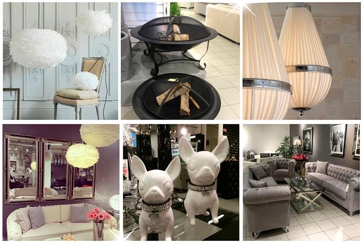 - Mange er villige til å reise langt for å handle på Elegante hjem, sier innehaver Monica Kittilsen.