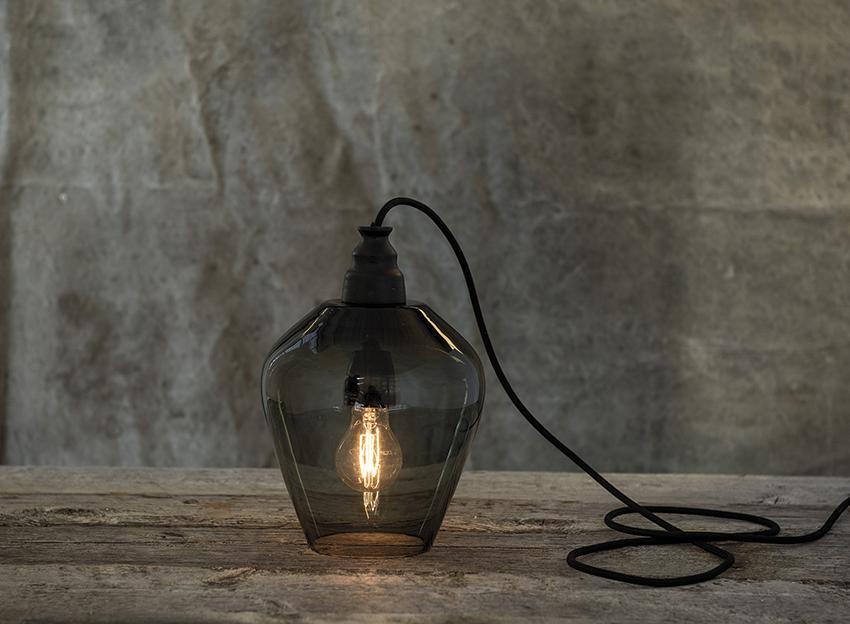 Lampen «Rocks» fra Magnor er designet av interiørdesigneren Halvor Bakke.