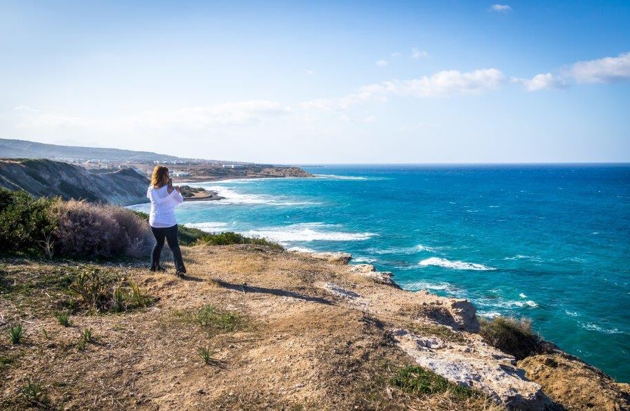 - Fjellene på Nord-Kypros innbyr til rekreasjon i vakre omgivelser, med variert vegetasjon og et mangfold av turveier, sier Tom Sudland. Foto: Inger Sudland