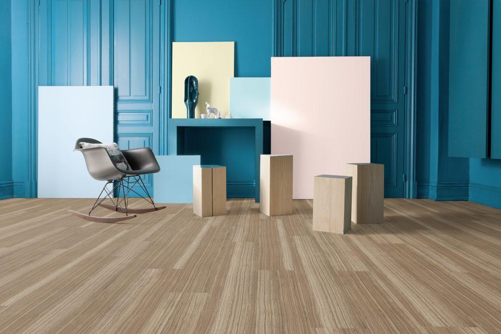 Gerflor er en av Norges største gulvimportører, og leverer de fleste typer gulv. De viser deg hvordan du legger gulv med klikksystemer, og tipser deg om nye produkter og løsninger. Foto: Gerflor