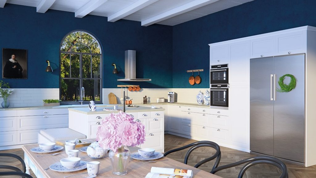 Bestselgeren Fasett Mansion fra Epoq i fargen Classic White.