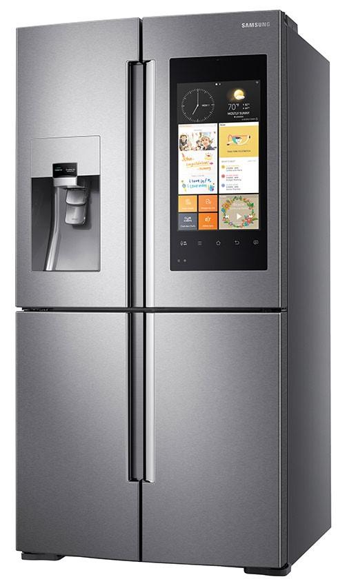 Family Hub fra Samsung er mye mer enn et kjøleskap. Det er smart i tillegg.