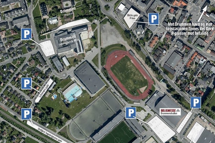 Boligmesse i Drammen – her kan du parkere