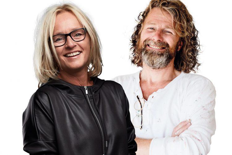 Einar og Kjersti inspirerer til kreativitet